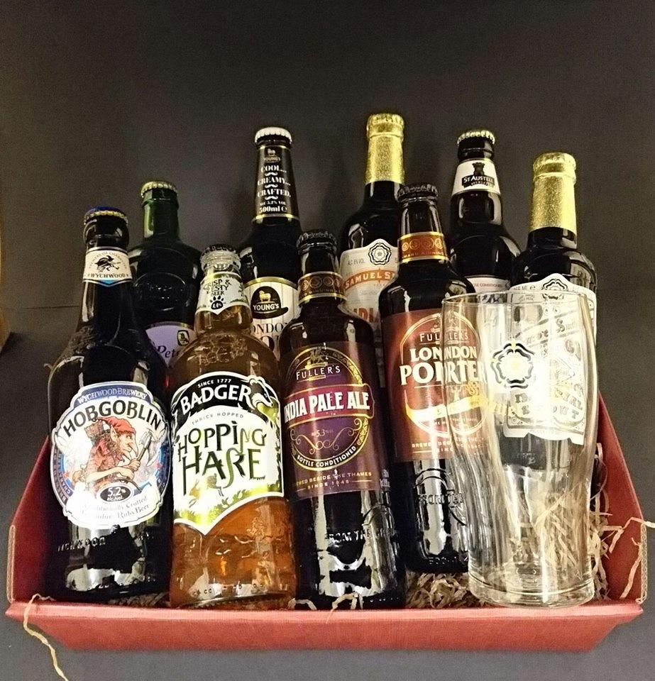 Lote de Cervezas Inglesas
