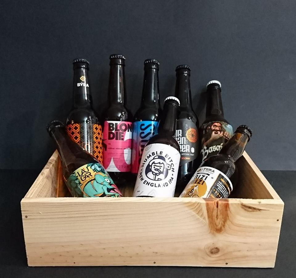 Caja Cervezas Vascas