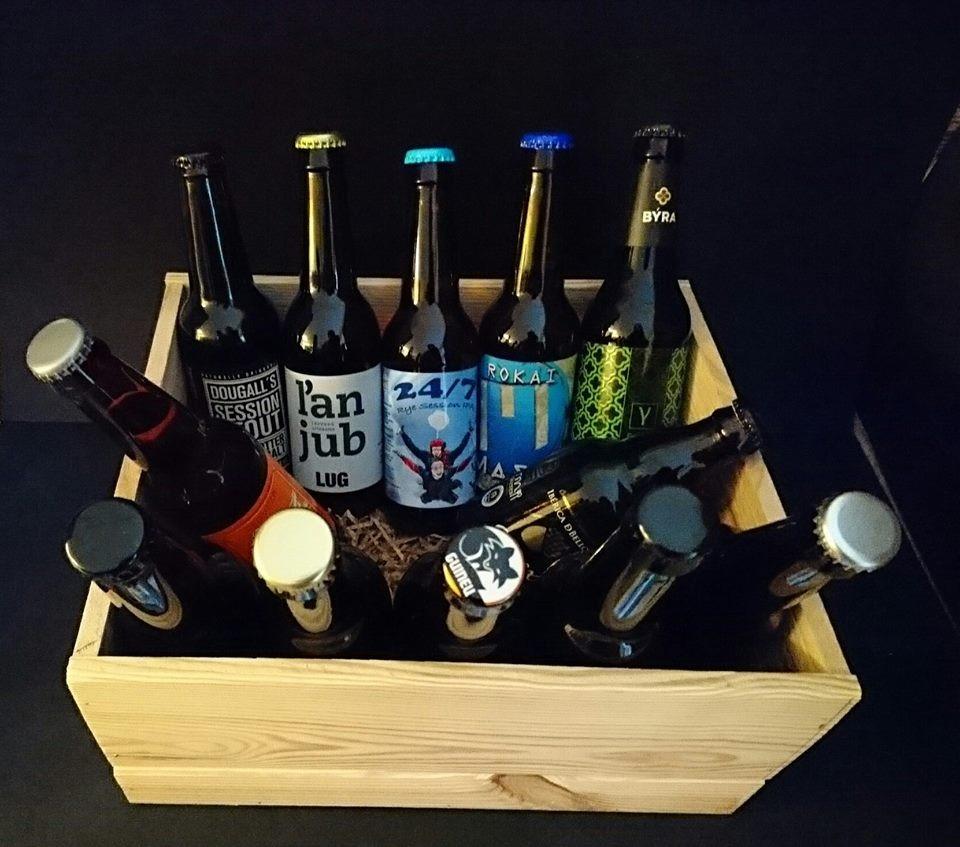 Caja de Cervezas Artesanas nacionales